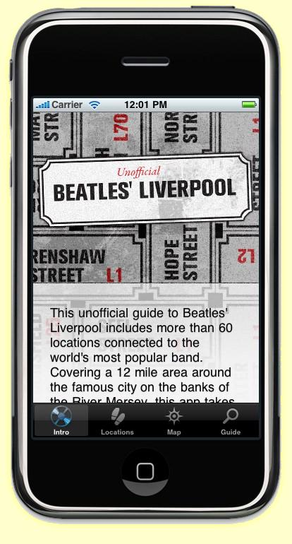 1. The first Beatles Liverpool tour guide iPhone App