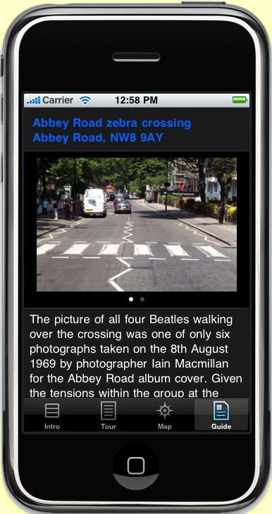 BeatlesWalkAppiPhone-GuideEntry1